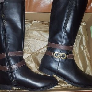 Cole Haan girl's boots Size 4